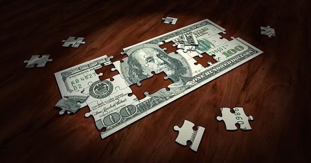 bankovka z puzzle