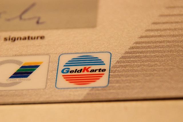 detail kreditní karty
