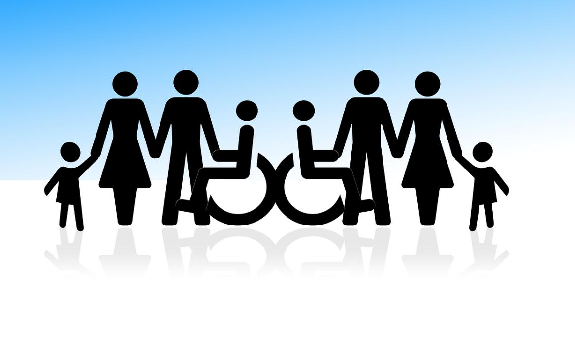 rodina s invalidou